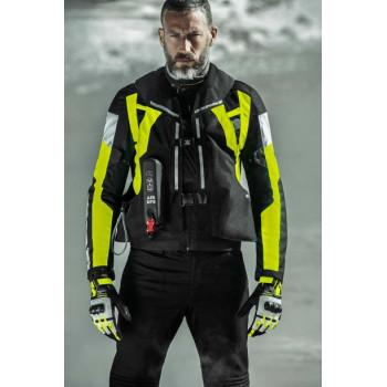фото 5 Мотожилеты Мотожилет с подушкой безопасности Spidi Air DPS Vest  Yellow fluo L