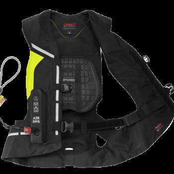 фото 4 Мотожилеты Мотожилет с подушкой безопасности Spidi Air DPS Vest  Yellow fluo L