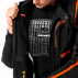 фото 4 Мотокуртки Мотокуртка Spidi Multitech Armor EVO Black-Orange 2XL