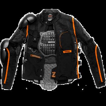 фото 1 Мотокуртки Мотокуртка Spidi Multitech Armor EVO Black-Orange 2XL