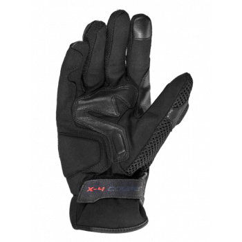 фото 4 Мотоперчатки Мотоперчатки Spidi X4 Coupe Black-White 2XL