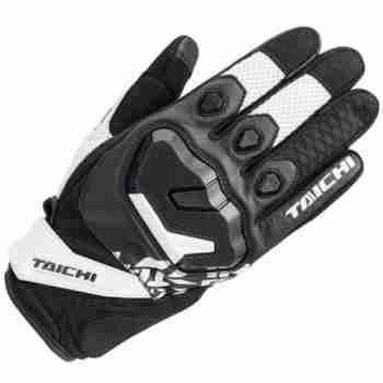 фото 1 Мотоперчатки Мотоперчатки RS Taichi Surge Mesh White - Black 2X