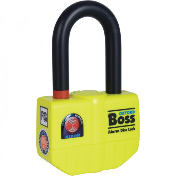 фото 2 Мотозамки Мотозамок с сигнализацией Oxford Boss Alarm Lock and Chain 12mm x 2.0m