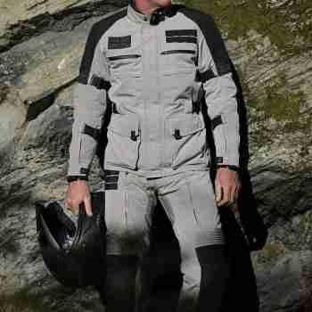 фото 6 Мотоштаны Мотоштаны RST Pro Series X-Raid CE Textile Jean Magnesium-Black 38