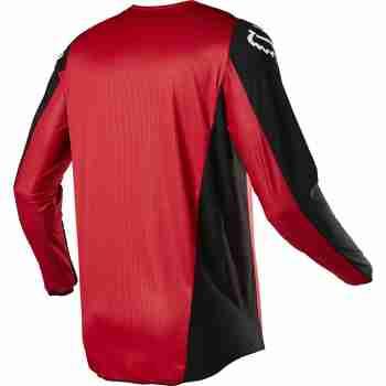 фото 5 Кроссовая одежда Мотоджерси FOX 180 Prix Jersey Flame Red 2XL
