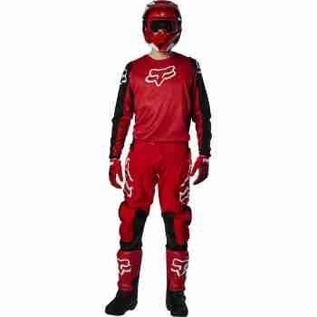 фото 2 Кроссовая одежда Мотоджерси FOX 180 Prix Jersey Flame Red 2XL