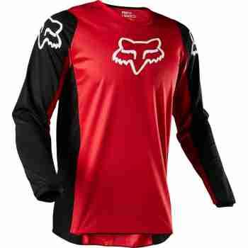фото 4 Кроссовая одежда Мотоджерси FOX 180 Prix Jersey Flame Red 2XL