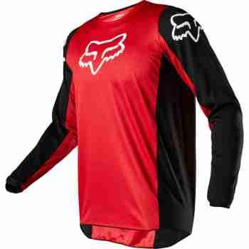 фото 1 Кроссовая одежда Мотоджерси FOX 180 Prix Jersey Flame Red 2XL