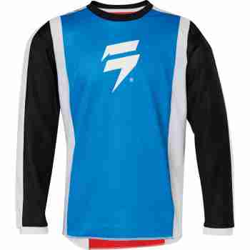 фото 4 Кроссовая одежда Мотоджерси детская SHIFT Whit3 Race Jersey 2 Red-Blue YM