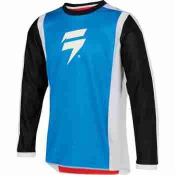 фото 1 Кроссовая одежда Мотоджерси детская SHIFT Whit3 Race Jersey 2 Red-Blue YM