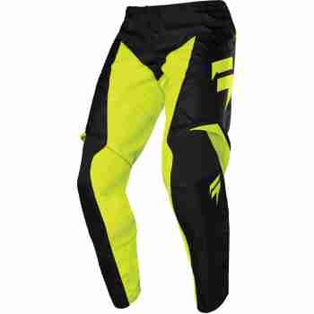 фото 1 Кроссовая одежда Мотоштаны SHIFT Whit3 Label Race Pant Flo Yellow 34