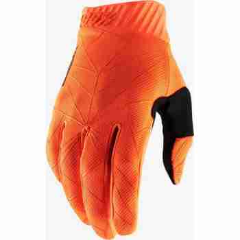 фото 1 Мотоперчатки Мотоперчатки Ride 100% Ridefit Glove Fluo Orange-Black M (9)