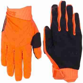 фото 2 Мотоперчатки Мотоперчатки Ride 100% Ridefit Glove Fluo Orange-Black S (8)