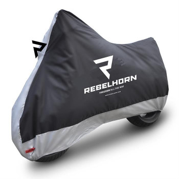 фото 1 Чехлы для мотоцикла Моточехол Rebelhorn Cover II Black-Silver XL
