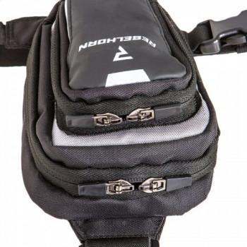 фото 3 Моторюкзаки Мотосумка на ногу Rebelhorn Hip II Black-Grey M