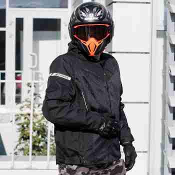 фото 6 Мотокуртки Мотокуртка Bering Cancun King Size Black W4XL
