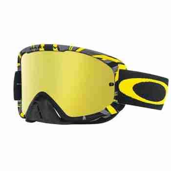 фото 1 Кроссовые маски и очки Мотоочки Oakley O2 MX INTIMIDATOR GUN METAL Yellow 24K Iridium-Clear