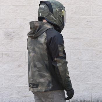 фото 5 Мотокуртки Мотокуртка Icon Merc Battlescar Camo M