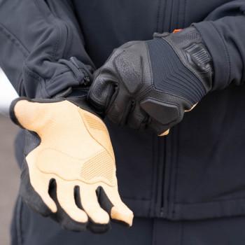 фото 11 Мотоперчатки Мотоперчатки Icon 1000 Nightbreed Black S