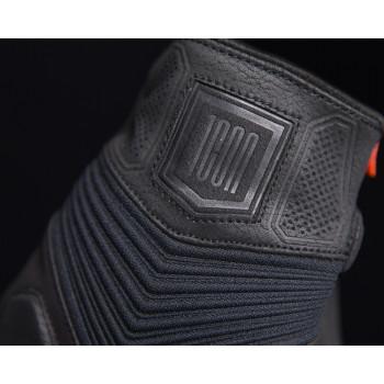фото 6 Мотоперчатки Мотоперчатки Icon 1000 Nightbreed Black S