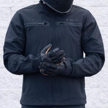 фото 9 Мотоперчатки Мотоперчатки Icon 1000 Nightbreed Black S