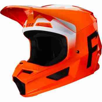 фото 1 Мотошлемы Мотошлем FOX V1 Werd Flo Orange XS