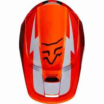 фото 2 Мотошлемы Мотошлем FOX V1 Werd Flo Orange XS