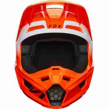 фото 5 Мотошлемы Мотошлем FOX V1 Werd Flo Orange XS