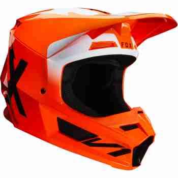 фото 3 Мотошлемы Мотошлем FOX V1 Werd Flo Orange XS