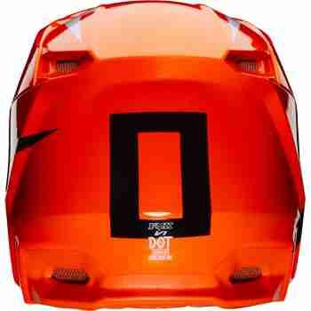 фото 4 Мотошлемы Мотошлем FOX V1 Werd Flo Orange XS