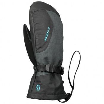 фото 2 Горнолыжные перчатки Горнолыжные перчатки подростковые Scott Ultimate Premium GTX Black- Blue XL