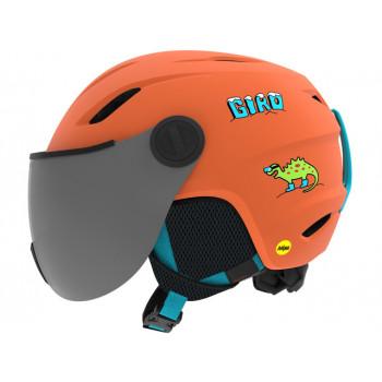 фото 1 Горнолыжные и сноубордические шлемы Горнолыжный шлем Giro Buzz Mips Dinosnow Orange S