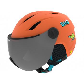 фото 4 Горнолыжные и сноубордические шлемы Горнолыжный шлем Giro Buzz Mips Dinosnow Orange S