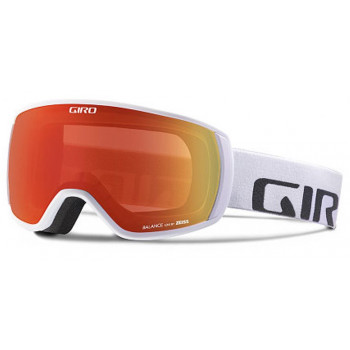 фото 1 Горнолыжные и сноубордические маски Горнолыжная маска Giro Balance White Wordmark  Zeiss  Amber Scarlet 40
