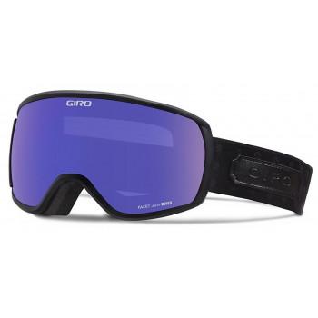фото 1 Горнолыжные и сноубордические маски Сноубордическая маска Giro Facet Black Cross Stitch  Zeiss  Grey Purple 25