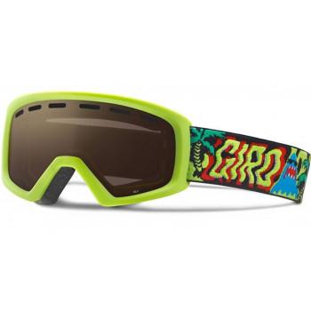 фото 1 Горнолыжные и сноубордические маски Сноубордическая маска Giro Rev Lime Shark Party  Amber Rose 40