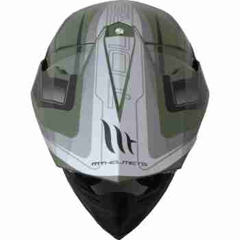 фото 6 Мотошлемы Мотошлем MT Synchrony SV Duo Sport Tourer Matt Green Military-Black S