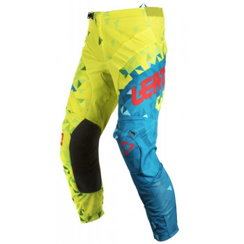 фото 1 Мотоштаны Мотоштаны детские Leatt Pant GPX 2.5 Kids Lime-Teal K4