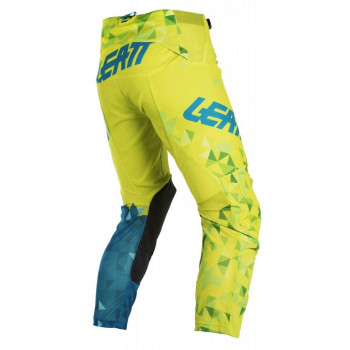 фото 3 Мотоштаны Мотоштаны детские Leatt Pant GPX 2.5 Kids Lime-Teal K4