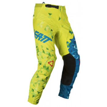 фото 2 Мотоштаны Мотоштаны детские Leatt Pant GPX 2.5 Kids Lime-Teal K4