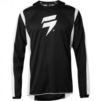 фото 1 Кроссовая одежда Мотоджерси SHIFT Whit3 Label Race Jersey 2 Black-White M