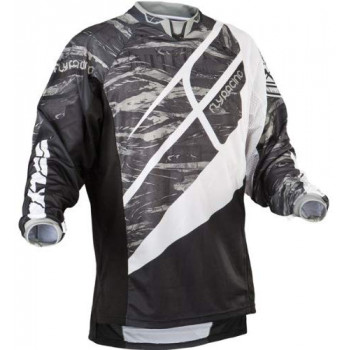 фото 1 Кроссовая одежда Мотоджерси FLY Patrol Jersey Camo-Black-Grey L