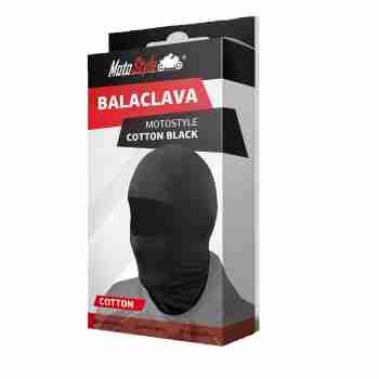 фото 2 Подшлемники Балаклава Motostyle Cotton Black