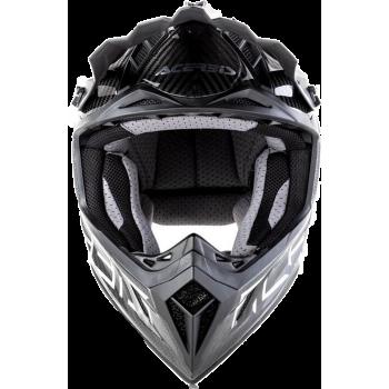 фото 6 Мотошлемы Мотошлем Acerbis Impact Steel Carbon Silver M