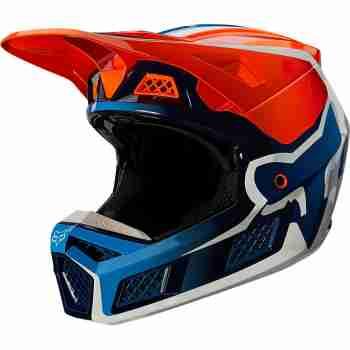 фото 1 Мотошлемы Мотошлем Fox V3 RS Wired Flo Orange XL