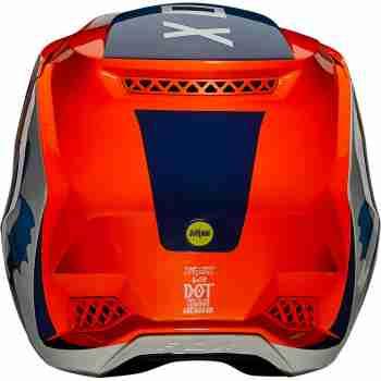 фото 5 Мотошлемы Мотошлем Fox V3 RS Wired Flo Orange XL