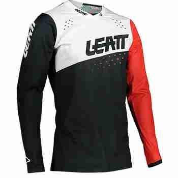 фото 1 Кроссовая одежда Мотоджерси Leatt GPX 4.5 Lite Black-White L
