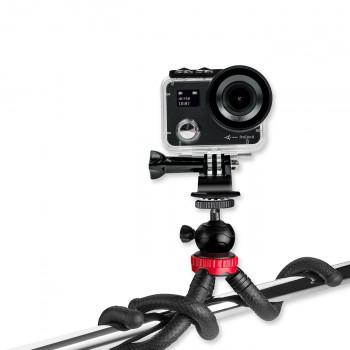 фото 2 Экшн - камеры Набор блогера AIRON 12 в 1: экшн-камера AIRON ProCam 8 Black с аксессуарами