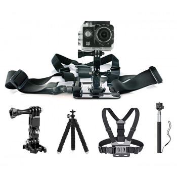 фото 7 Экшн - камеры Набор блогера AIRON 30 в 1: экшн-камера AIRON Simple Full HD с аксессуарами