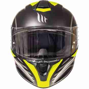 фото 2 Мотошлемы Мотошлем MT Targo Doppler Matt Fluor Yellow L